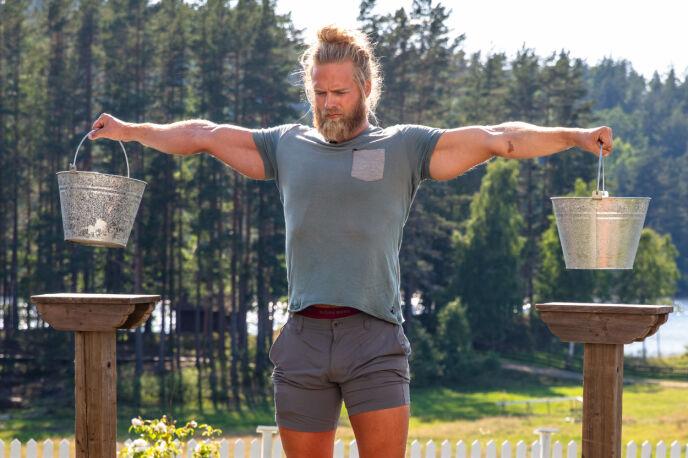 VINNER: Lasse Matberg ga alt i semifinalen, men mener han ikke bevisst forsøkte å vippe Sølje av pinnen. Foto: Alex Iversen / TV 2