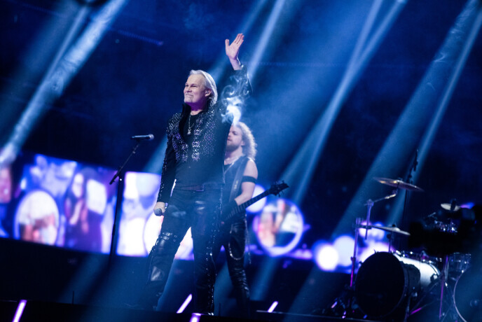 VIDERE: Rockeren Jorn er også videre i MGP. Foto: NRK