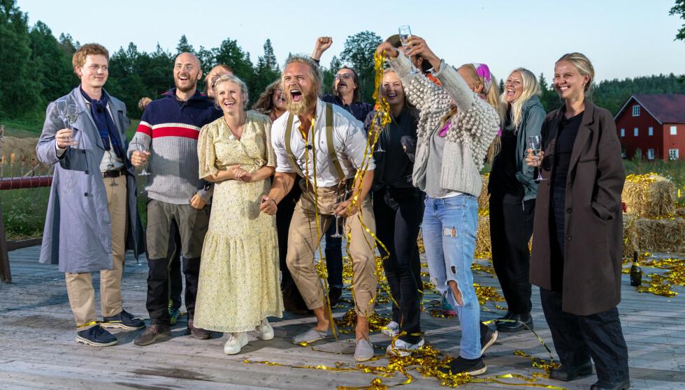 SLAPP JUBELEN LØS: Lasse Matberg vant årets«Farmen kjendis» etter å ha slått komiker Terje Sporsem i den avgjørende finalen. Foto: Alex Iversen / TV 2
