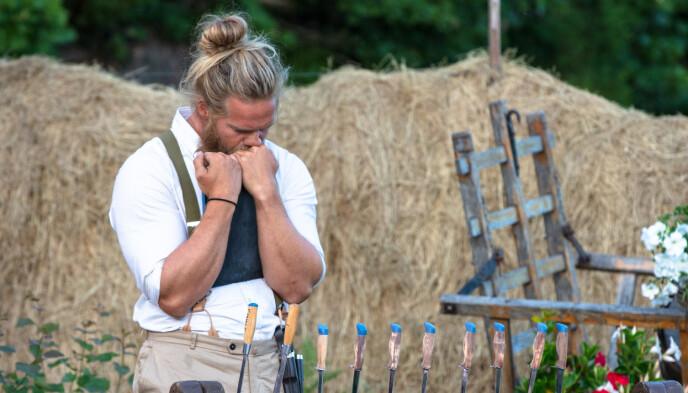 NERVEPIRRENDE: Lasse Matberg vant til slutt, men det ble en meget, meget jevn finale. Foto: Alex Iversen / TV 2