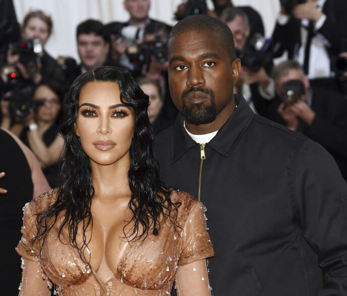 SKAPER REAKSJONER: Da skilsmissenyheten om Kim Kardashian og Kanye West ble kjent, var fansen kjappe til å dele meningene sine i sosiale medier. Foto: Evan Agostini / INVISION / NTB