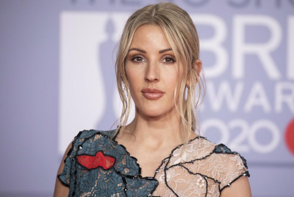 NYBAKT MOR: Popstjernen Ellie Goulding har fått sitt første barn sammen med ektemannen Caspar Jopling. Foto: Vianney Le Caer/ Invision / AP / NTB