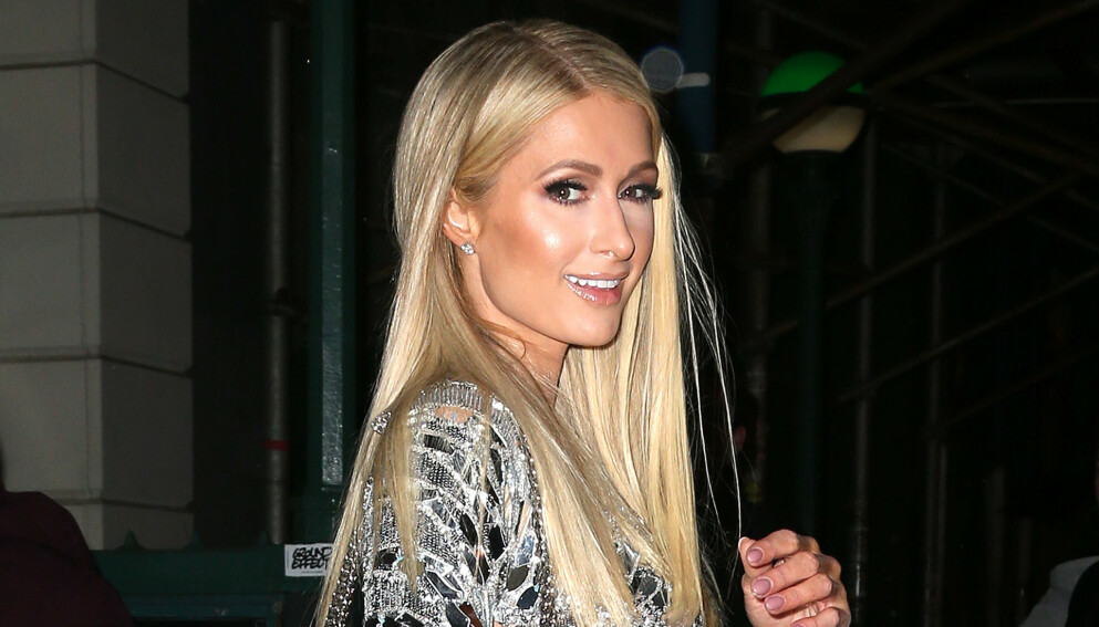 LYKKELIG: Paris Hilton gleder seg til å starte familie med forloveden Carter Reum. Foto: Broadimage/REX/NTB