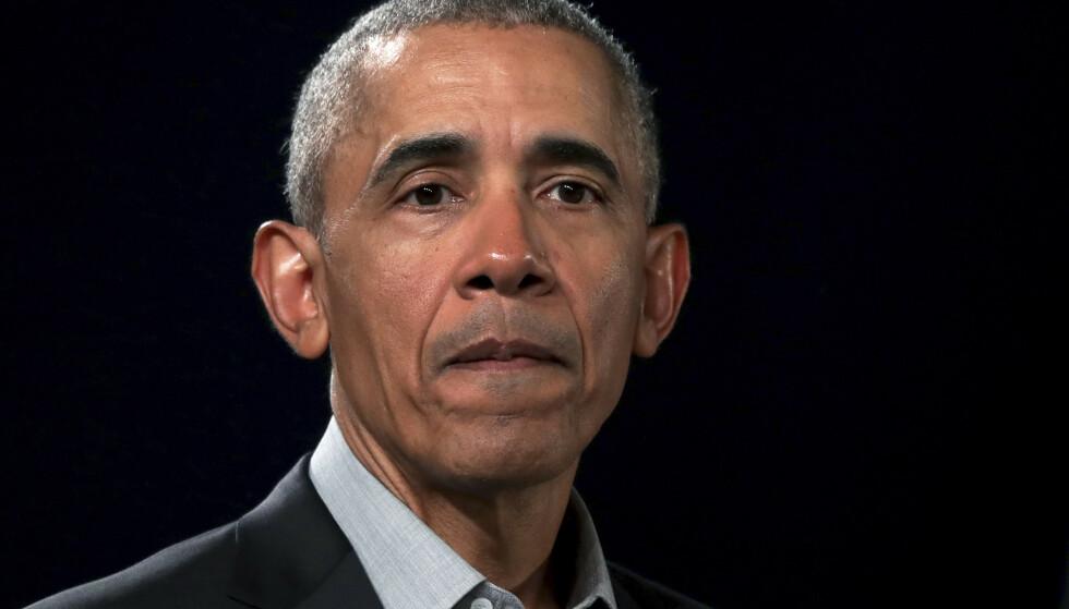 SLÅSSKAMP: Barack Obama snakker ut om en hendelse fra barndommen i ny podkast. Foto: Michazel Sohn / AP / NTB
