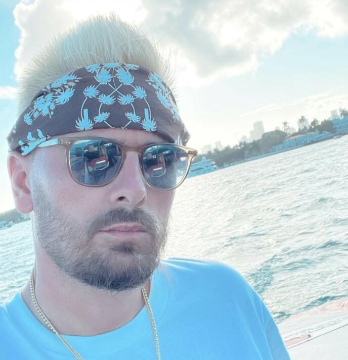 TOMMEL NED: Fansen var ikke imponert over Disicks blonde hår. Foto: Skjermbilde/ Instagram