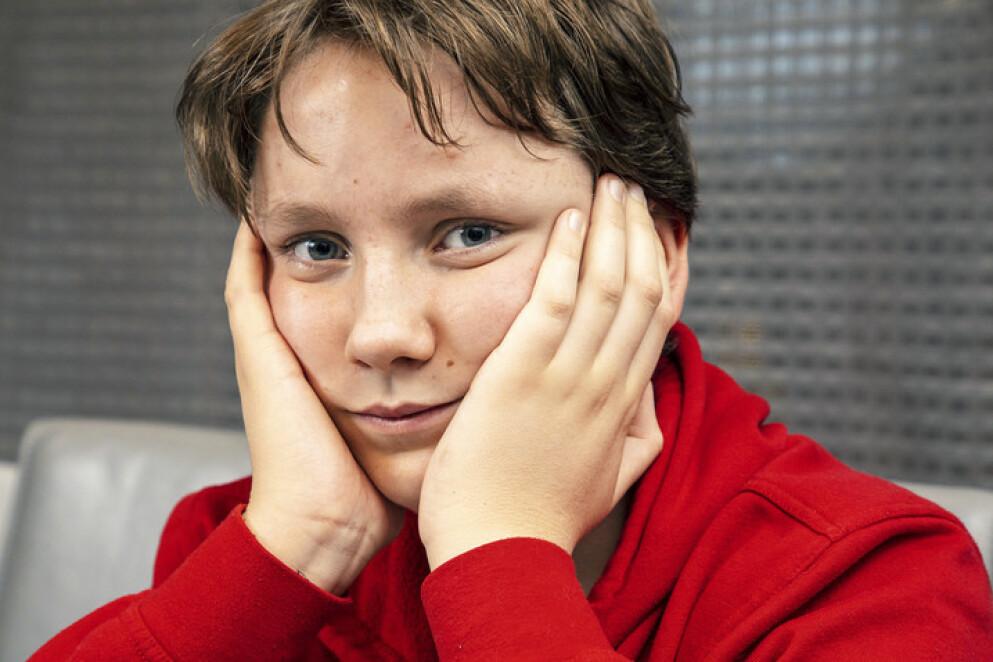 SLITEN: Michael fra Lillestrøm følte seg sliten og litt motløs av all hostingen. - Det ble ikke bedre av at ingen fant ut hva som var galt, sier han. Foto: Morten Eik/ Se og Hør