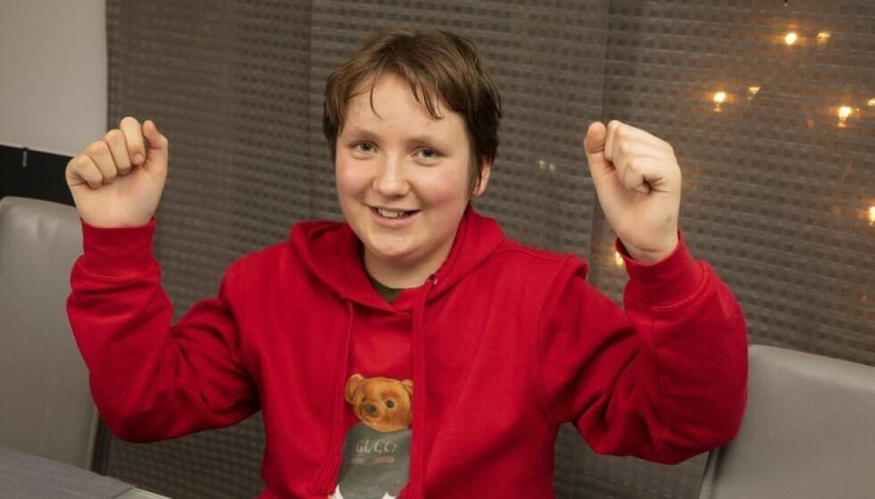 HÅP: Michael er klar for en ny hverdag uten plager. Foto: Morten Eik/ Se og Hør