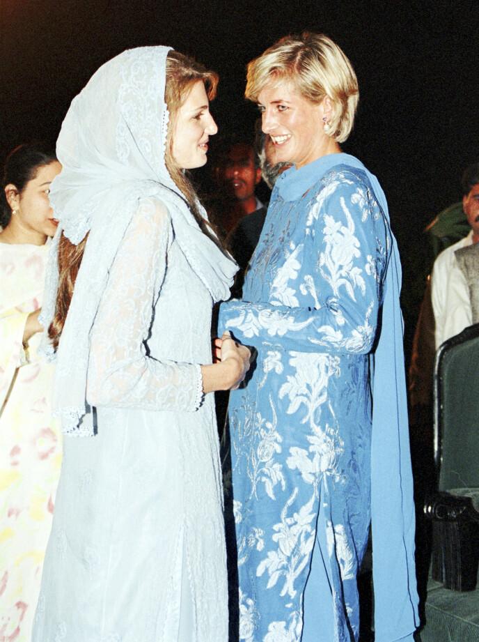 VENNINNE: Jemima Goldsmith er født til penger – og var tidligere en god venninne av prinsesse Diana. Foto: Tim Rooke /REX / NTB