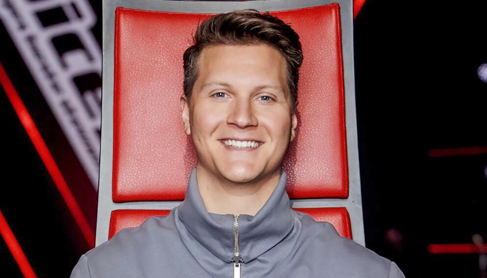 THE VOICE: Tom Stræte «Matoma» Lagergren trives godt i stolen i «The Voice». Den sjette sesongen av jakten på Norges beste stemme er allerede godt i gang. Foto: TV 2
