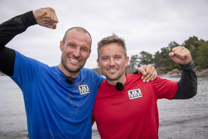 FINALISTER: Aksel og Håvard kort tid etter finalekonkurransen. Foto: Lars Eivind Bones / Dagbladet
