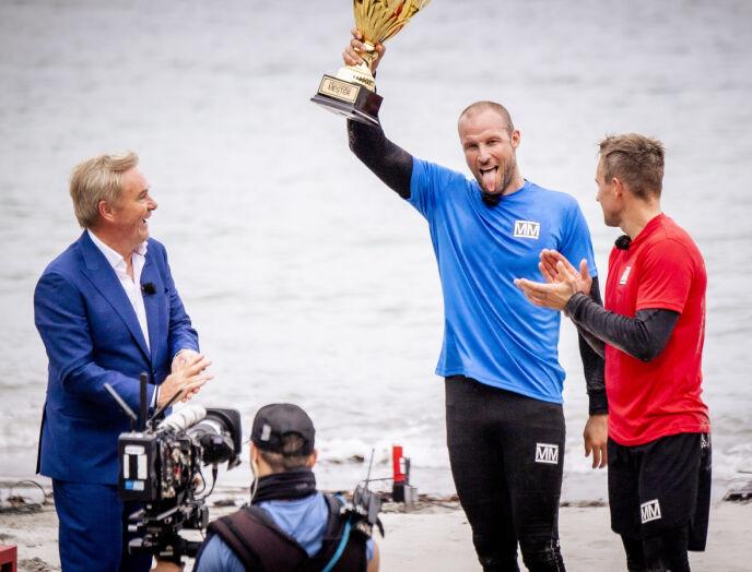 TIL TOPPS: Aksel Lund Svindal kunne slippe jubelen løs etter en intens finale mot Håvard Tvedten. Foto: Lars Eivind Bones / Dagbladet