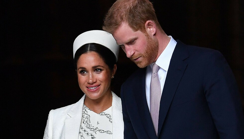 TRUKKET SEG: I forrige uke kom det frem at Meghan og Harry trekker seg tilbake fra sine kongelige plikter for godt. Foto: Ben Stansall / AFP / NTB