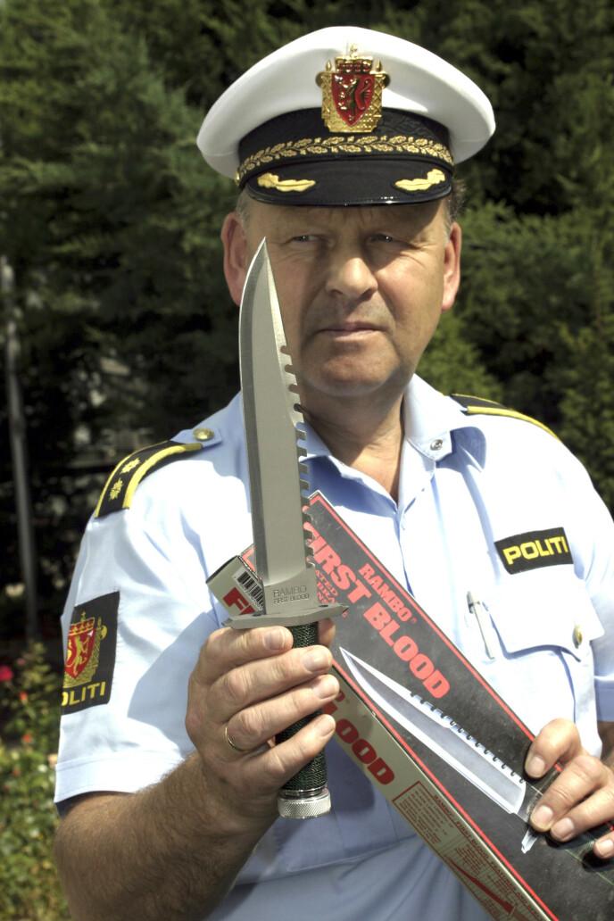 ERFAREN: Finn var i flere år leder for voldsavsnittet ved Oslo politidistrikt. Der var han med å oppklare en rekke volds- og drapssaker. Foto: NTB