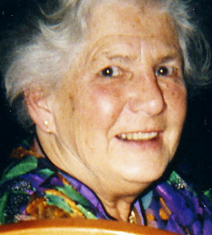 SNILL: Marit var en blid, omsorgsfull og hardtarbeidende kvinne som helt meningsløst måtte bøte med livet. FOTO: Privat