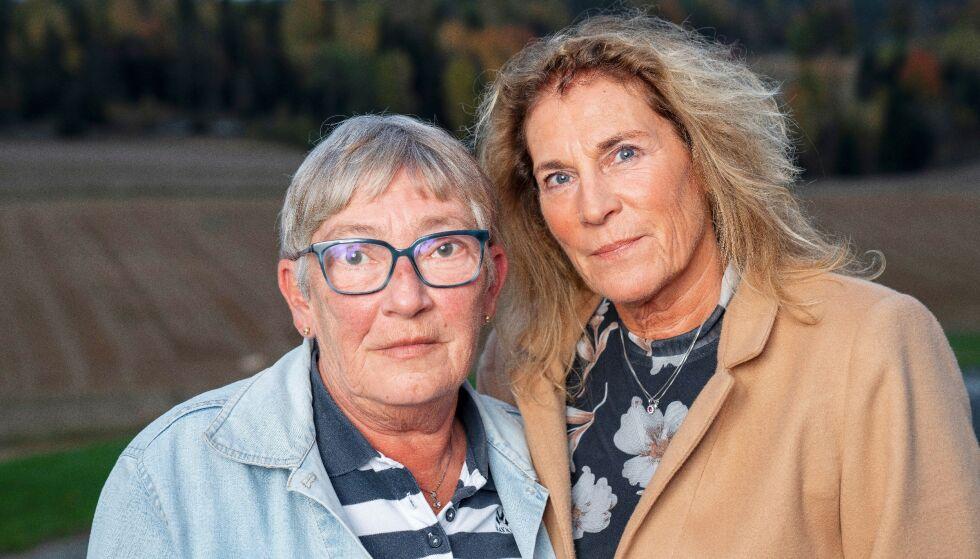 STORT SAVN: – Det var forferdelig å miste mamma på så brutalt vis. Tomrommet er stort, både for oss og våre barn som mistet sin kjære «Mimmi», sier AnnaRagnhild (t.v.) og Bente. FOTO: Espen Solli