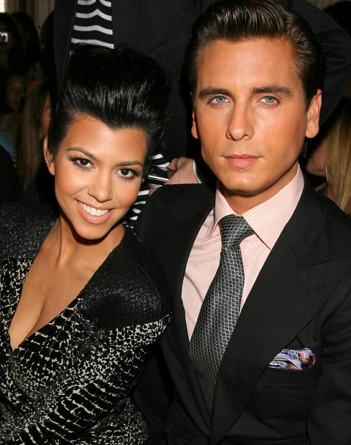 EKSPAR: I 2015 besluttet Kourtney Kardashian og Scott Disick å gå hver til sitt etter ni år. Her i 2010. Foto: Dave Allocca /Starpix /REX / NTB