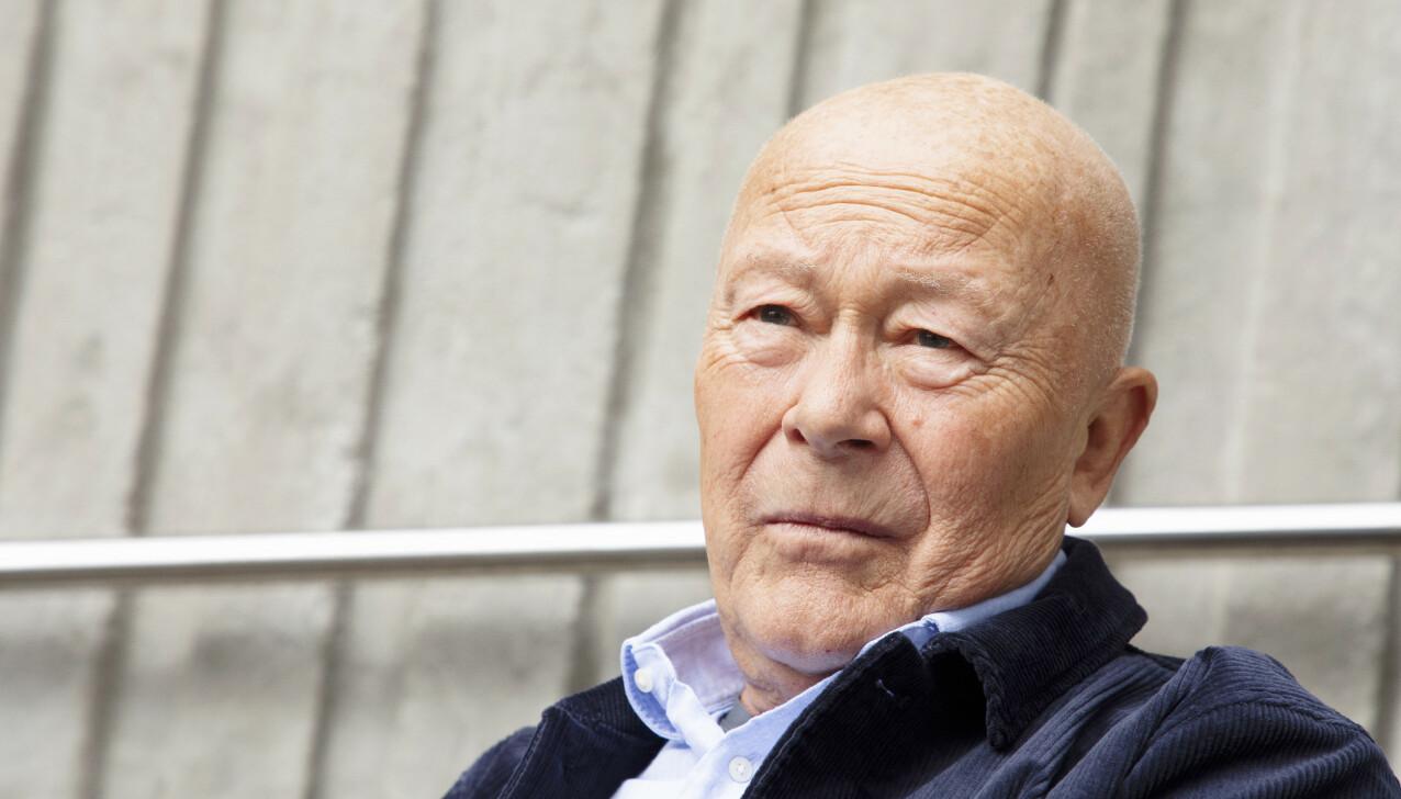 VIKTIG BUDSKAP: Prostatakreft rammer mange, og kan oppdages ved en enkel blodprøve. – Til alle menn: Gå til legen én gang i året og sjekk dere! sier Nils Ole Oftebro. FOTO: Morten Eik
