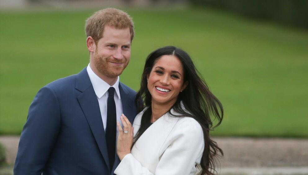 SJELDENT: Paret har holdt store deler av Archies liv privat, men nå har de imidlertid delt et nytt bilde av sønnen. Foto: Daniel Leal-Olivas / AFP / NTB