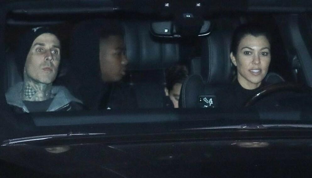 SNAKKER UT: Ekskona til Kourtney Kardashians nye kjæreste Travis Barker bryter tausheten om hva hun tenker om det nye forholdet til eksmannen. Samtidig forklarer hun det flere medier har tolket som stikk mot realitystjerna. Foto: Ngre Apex / Backgrid USA / NTB