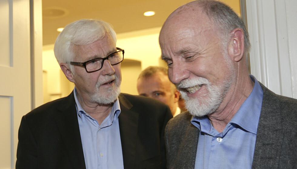 FÅR KRITIKK: Ordfører Torgeir Dahl til høyre. Foto: Vidar Ruud / NTB