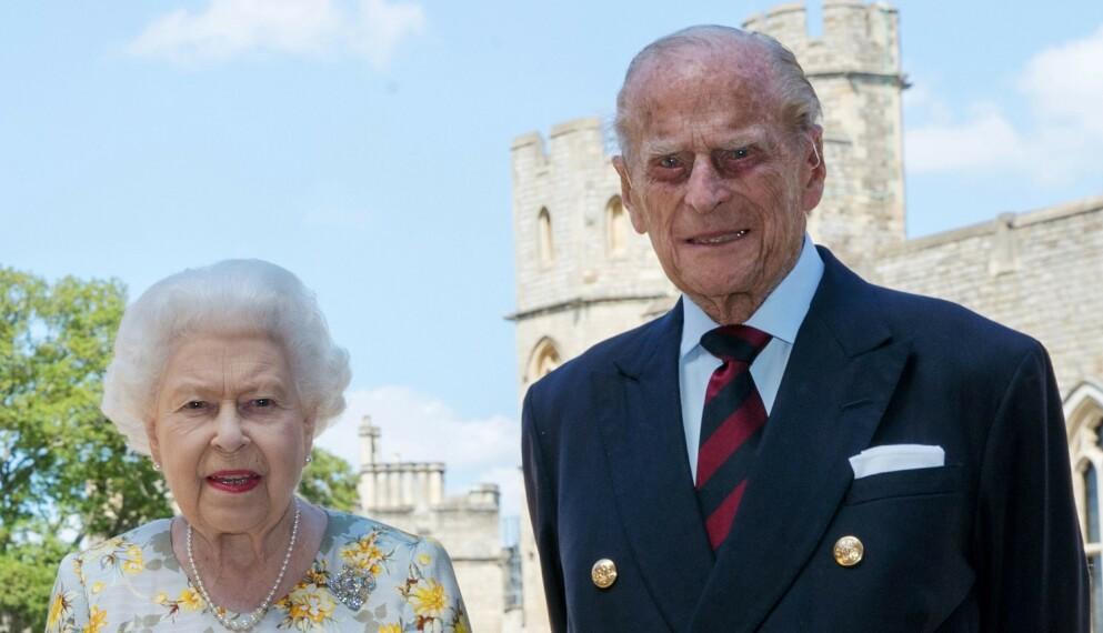 INNLAGT: Prins Philip ble mandag flyttet til et annet sykehus for videre behandling. Foto: Steve Parsons / AFP / NTB