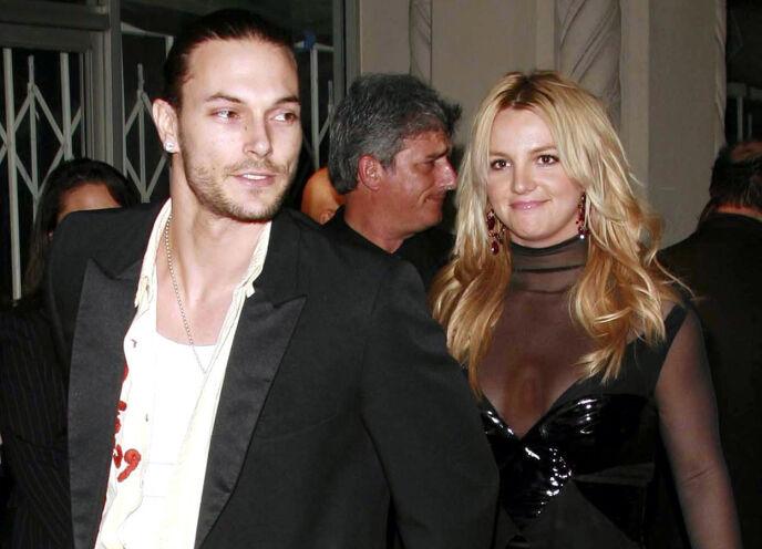 PROFILERT PAR: Kevin Federline og Britney Spears i 2006. Eksparet fikk to sønner sammen. Foto: Peter Brooker / REX / NTB