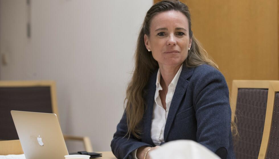 FORSVARER JOHNSEN: Cecilie Nakstad er Melina Johnsens forsvarer. Foto: Terje Pedersen / NTB