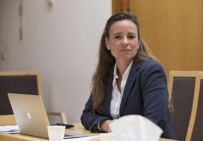 FORSVARER: Advokat Cecilie Nakstad representerte Melina Johnsen i retten. Foto: Terje Pedersen / NTB