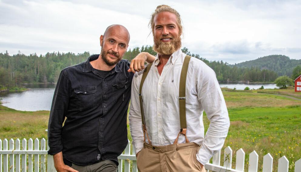 BLIR PROGRAMLEDERE: Lasse Matberg og Terje Sporsem får egen tv-serie. Foto: Alex Iversen / TV 2
