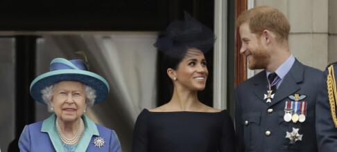 Buckingham Palace: - Bekymret