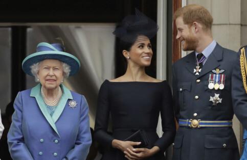 Image: Buckingham Palace: - Bekymret