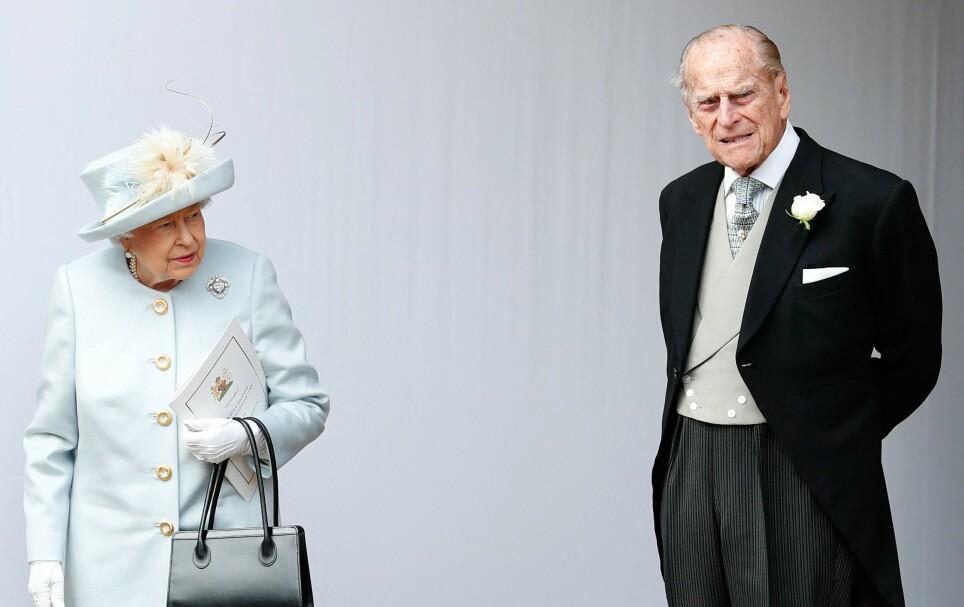 HJERTEOPERASJON: Torsdag formiddag ble det kjent at dronning Elizabeths ektemann, prins Philip, har fått gjennomført et vellykket inngrep for en allerede eksisterende hjertesykdom. Foto: Alastair Grant / AFP/ NTB