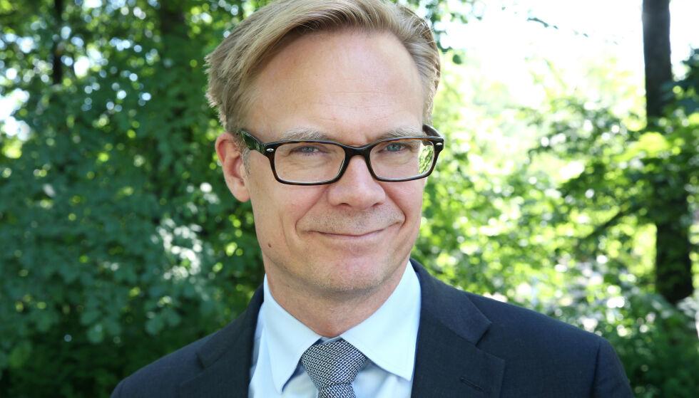 KORESPONDENT: Espen Aas har tidligere vært London-korespondent i NRK. Han har fulgt den britiske kongefamilien i flere år. Foto: Ole Kaland, NRK