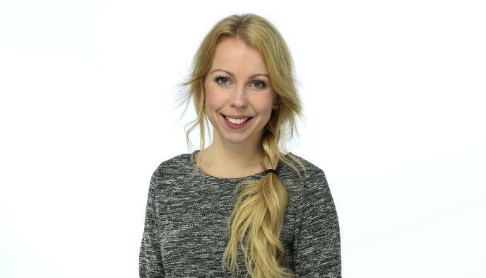HOFFREPORTER: Johanna Lejon i Svensk Damtidning. Foto: Karin Törnblom