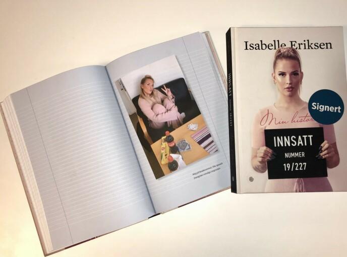 ÆRLIG: I sin nye bok forteller Isabelle Eriksen om alt fra barndom og ungdomstid til livet bak murene. Foto: Steffen Pettersen / Se og Hør