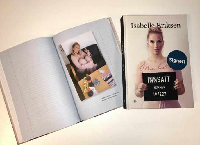 NY BOK: Isabelle Eriksen har skrevet en bok hvor hun skriver om tiden i fengsel. Foto: Steffen Pettersen / Se og Hør