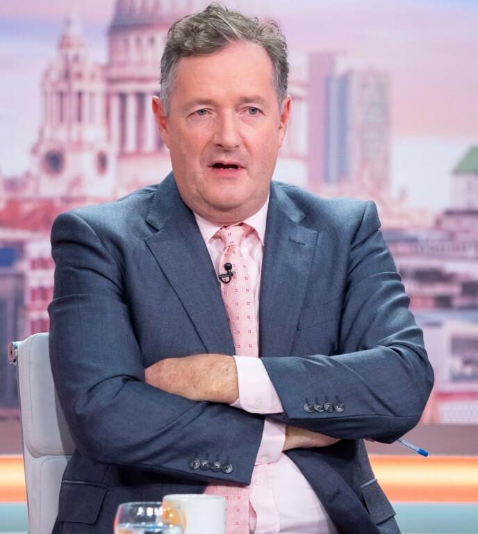 FRA ROS TIL KRITIKK: I starten snakket Piers Morgan varmt om hertuginne Meghan. Plutselig endret det seg. Foto: Ken McKay / ITV / Shutterstock / NTB