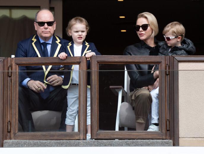 ULIKE: Prins Albert røper detaljer om de kongelige tvllingene i et nytt intervju. Foto: David Niviere / NTB