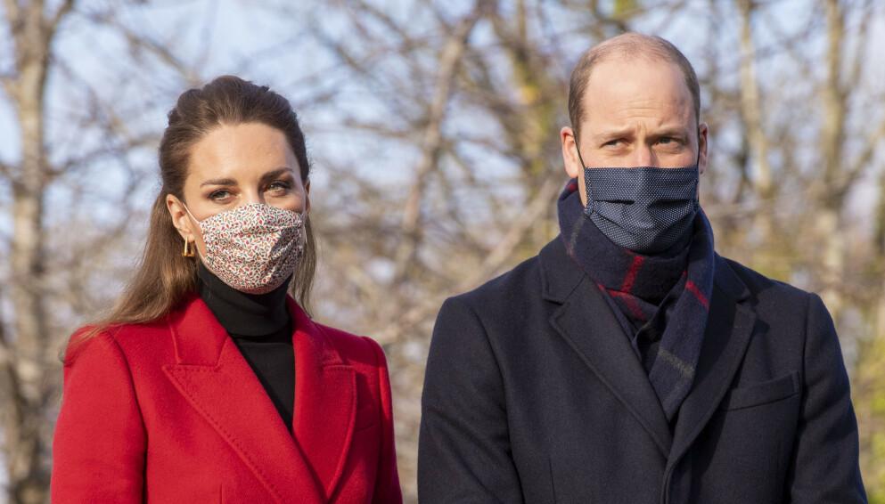 SVÆRT OVERRASKET: Hertuginne Kate og prins William skal ikke ha visst i hvor stor grad prins Harry og hertuginne Meghan slet. Foto: Pa Photos/Paul Grover/the Daily Telegraph/NTB