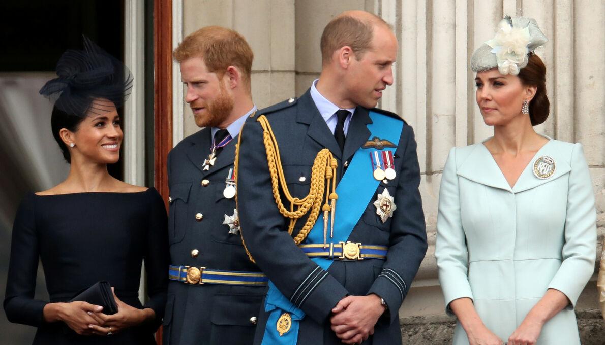 BITTERT: Verken hertuginne Meghan og hertuginne Kate er på talefot. Det er heller ikke prins William og Prins Harry. Foto: NTB.