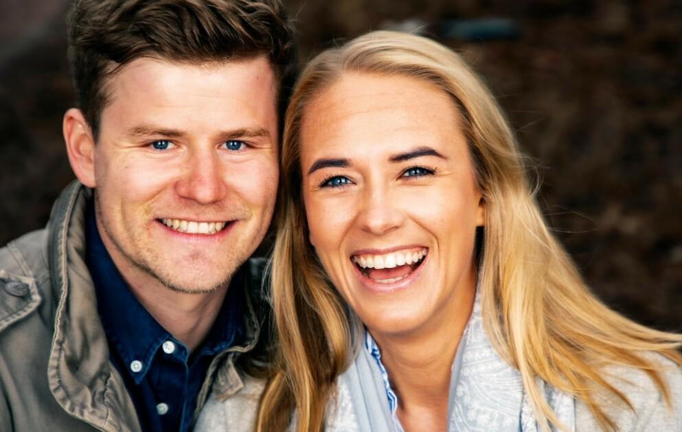FIKK EN SØNN: I midten av februar ble Nicolay Ramm og forloveden Josephine Leine Granlie foreldre for første gang. Foto: Tor Lindseth