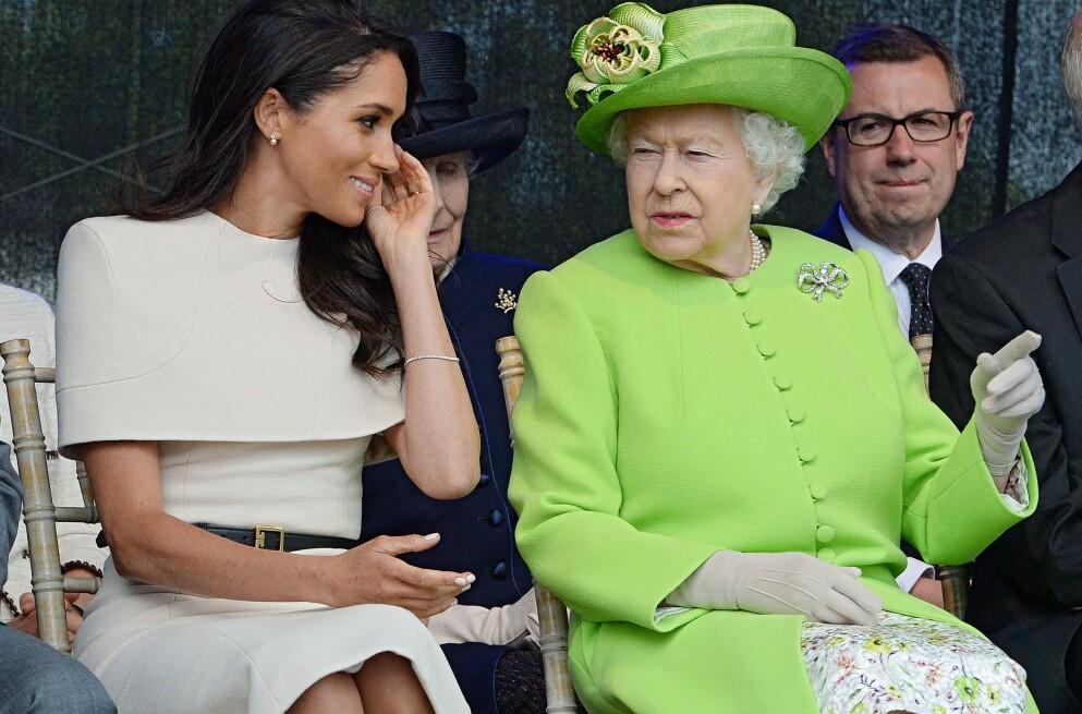 KONFLIKT: Tidligere denne måneden ble hertuginne Meghan beskyldt for å ha stått bak mobbing av fler ansatte på Kensington Palace. Anklagene har hun senere avvist, men nå skal hun ha krevd å se beviser for mobbeanklagene. Foto: Jim CLARKE / POOL / AFP / NTB