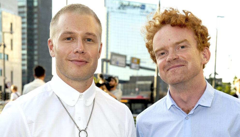 FERDIGE: Herman Flesvig og Mikkel Niva forlater NRK. Foto: Andreas Fadum/ Se og Hør