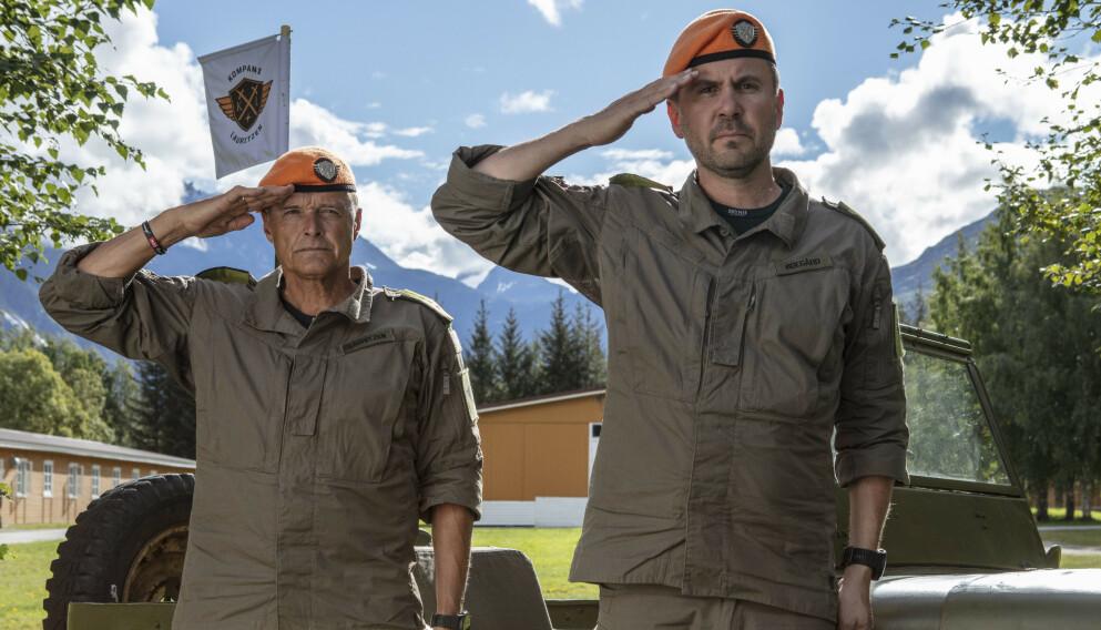 MILLIONER: Dag Otto Lauritzen og Kristian Ødegård kan smile stort etter en vellykket premiere. Foto: Matti Bernitz /TV 2