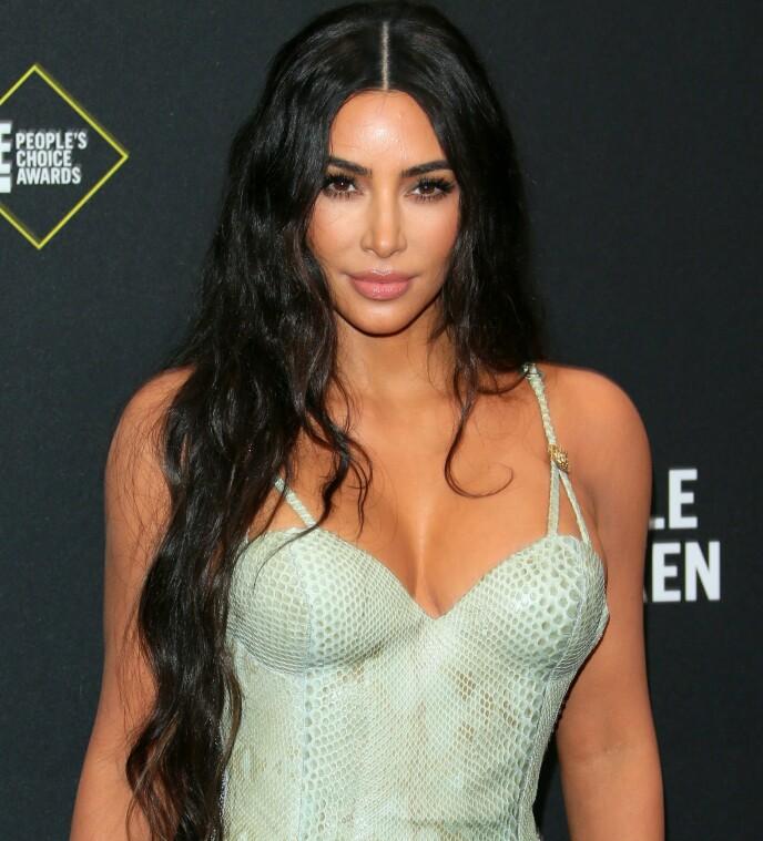 TJENER STIVT: Kim Kardashian kan smile hele veien til banken, da hun er den som tjener mest på det populære realityprogrammet. Foto: Jean-Baptiste Lacroix/ AFP/ NTB