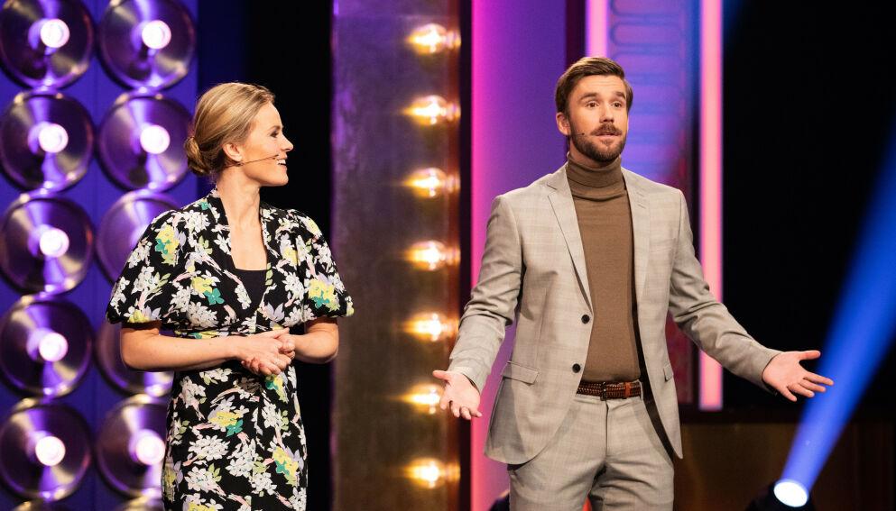 SLUTTER: Stian Blipp avslørte tidligere i år at han slutter som «Senkveld»-programleder. Foto: Helene Kjærgaard/TV 2