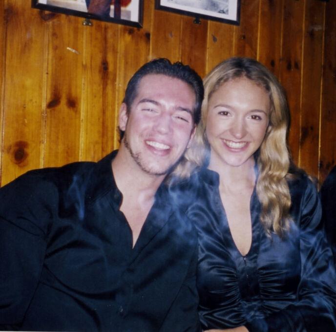 EKSKJÆRESTER: I 2004 gikk Guillaume og Pia Haraldsen hver til sitt. Foto: Privat