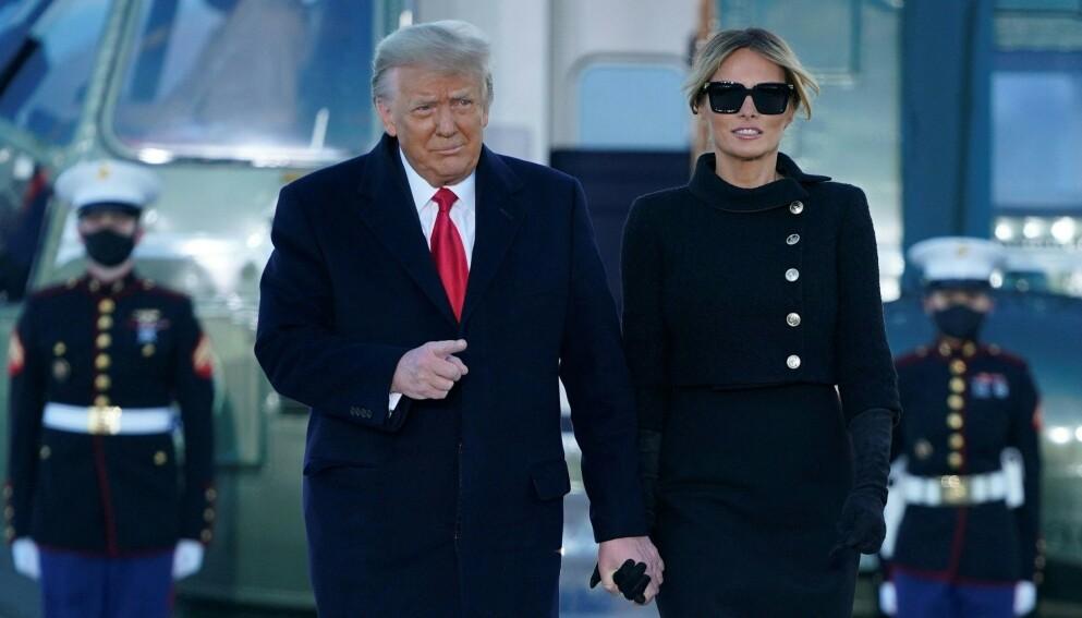 UTTALER SEG: Donald Trump er ikke nådig i sin dom over hertuginne Meghan. Han ønsker imidlertid gjerne å se henne i neste presidentvalg. Foto: Alex Edelman / AFP / NTB