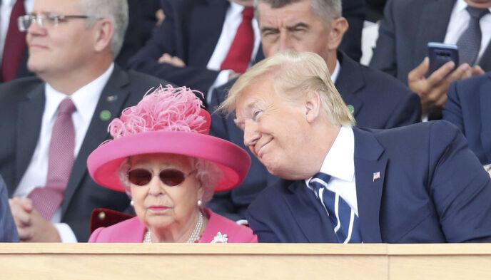 - KJENNER DRONNINGA: Donald Trump misliker hertuginne Meghan for måten hun snakker om den britiske kongefamilien på. Foto: Chris Jackson/Pool Photo via AP/NTB
