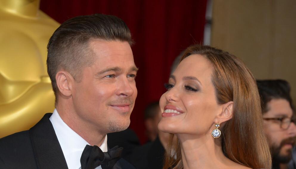 STERKE ANKLAGER: Angelina Jolie og Brad Pitts skilsmissestrid fortsetter. Nå anklager nemlig Jolie eksmannen for vold igjen. Foto: Stewart Cook/REX /NTB